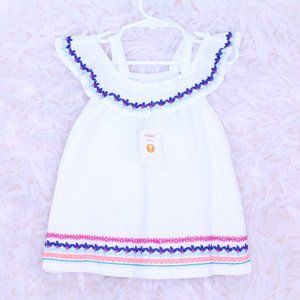 Gymboree Baby Girl 2 Pc Tunic Cold Shoulde…